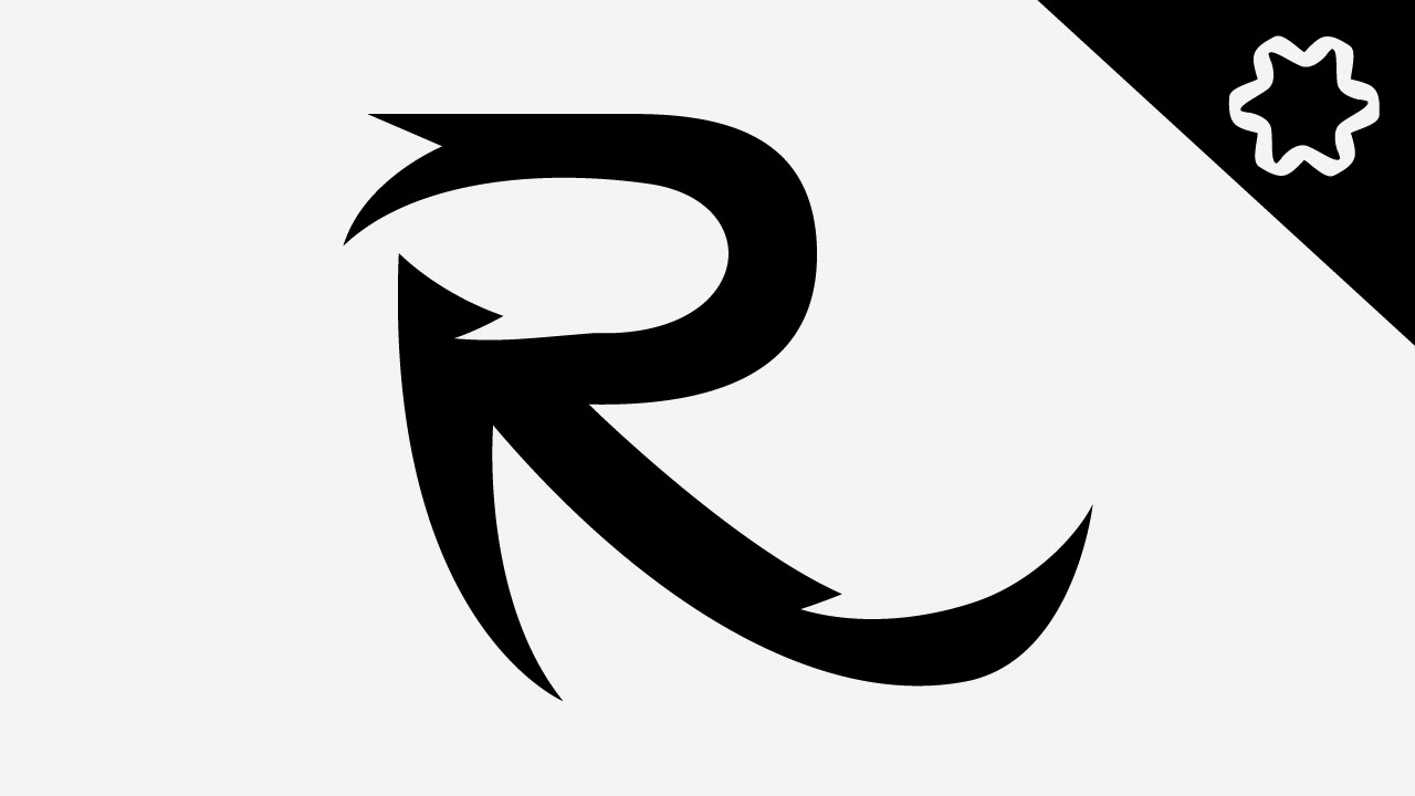 Tutorial Adobe illustrator for Beginners / Custom Letter R ...