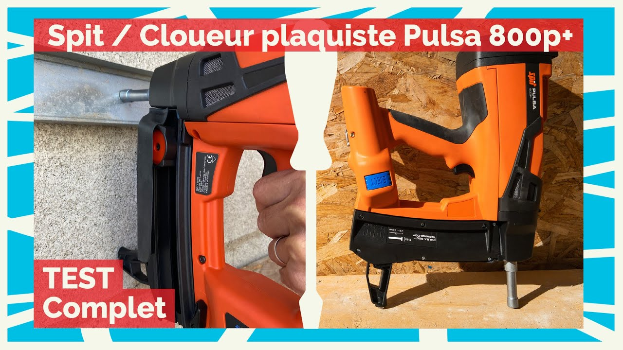 Download TEST ✅ Spit - Cloueur plaquiste PULSA 800p+ - La pause café de BichonTV
