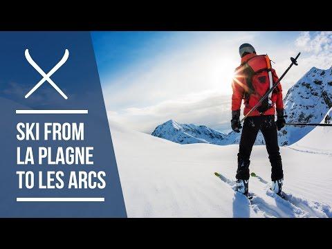 How to ski from La Plagne to Les Arcs | Ski Route Guide | Iglu Ski