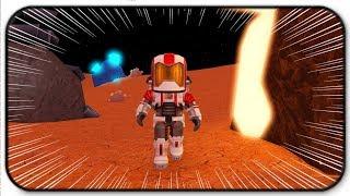 Esplorare un nuovo pianeta nello spazio - Roblox Mars Mining Simulator