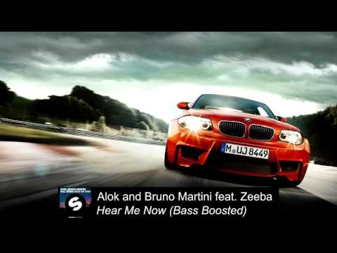 Alok And Bruno Martini Feat. Zeeba - Hear Me Now [Bass Boosted]