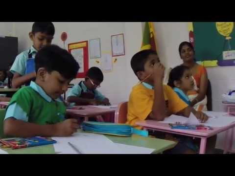 Marine Conservation Workshop for schools with OHT in Sri Lanka