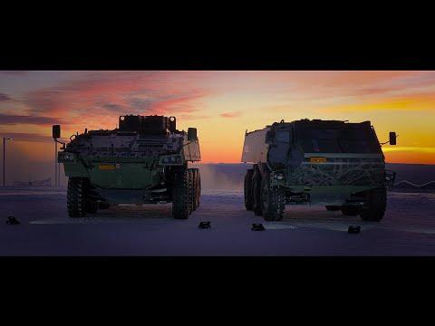 Patria AMVXP and Patria 6X6, Patria Arctic Testing Team presents