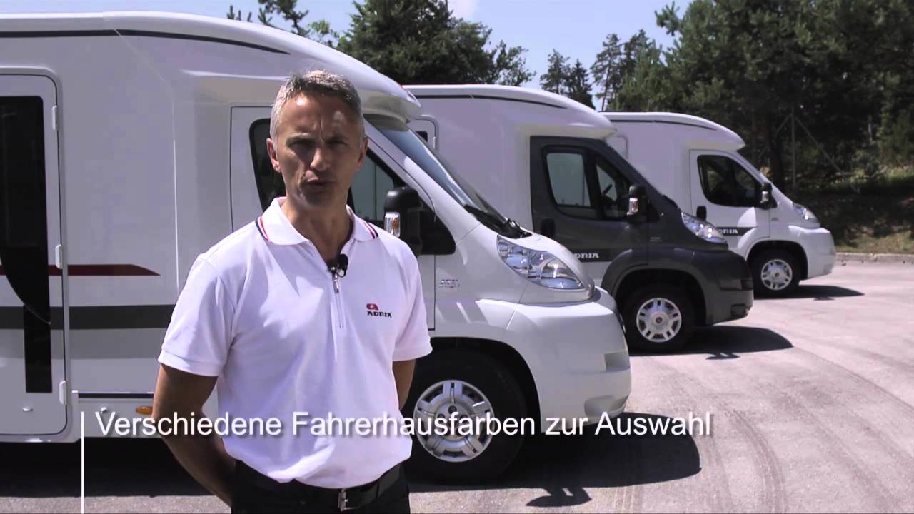 wohnmobil adria coral wohnmobile mit top preis leistungsverh ltnis youtube. Black Bedroom Furniture Sets. Home Design Ideas