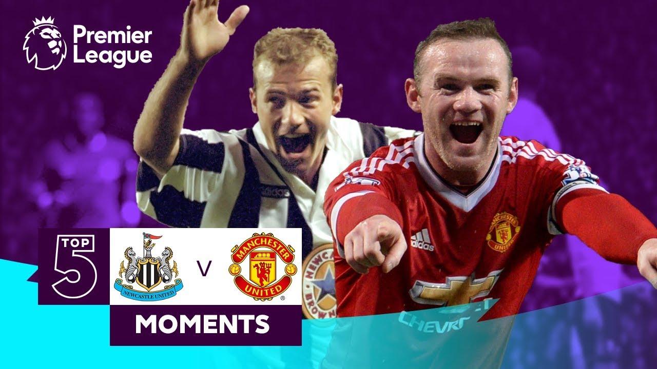 Download Newcastle v Manchester United | Top 5 Premier League Moments | Shearer, Rooney, Solskjaer