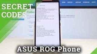 Secret Codes for ASUS ROG Phone - Hidden Mode / Advanced Features