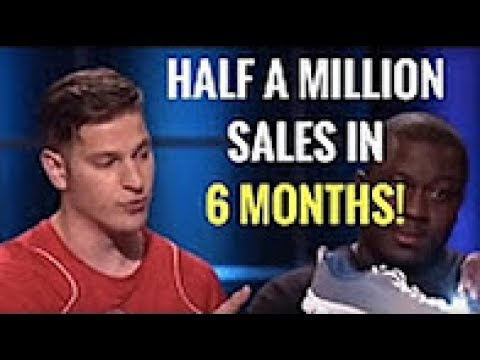 Amazing Shoe Company With Half a Million Sales in 6 Months! Shark Tank