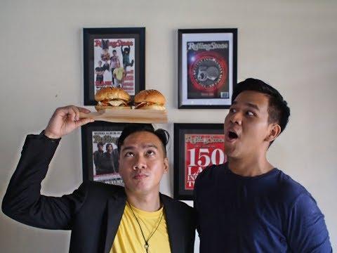 Beef Burger W/ Agusalim Luckman (Dapur Rekaman)