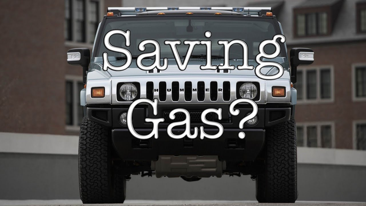 Save Gas With A Hummer H2