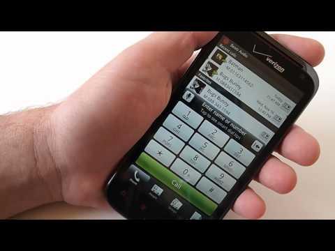 HTC Rezound user interface demo