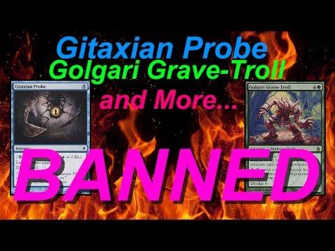 Gitaxian Probe, Golgari Grave-Troll, And More BANNED (Nikachu)