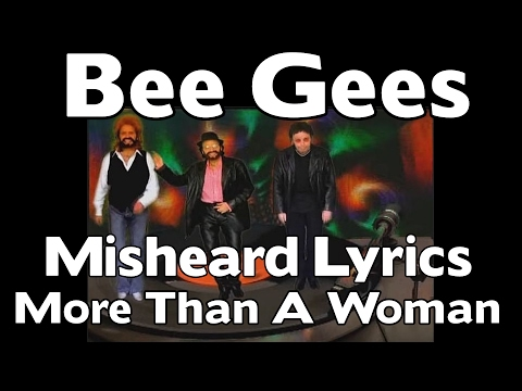 The Bee Gees  Misheard Lyrics  More Than A Woman
