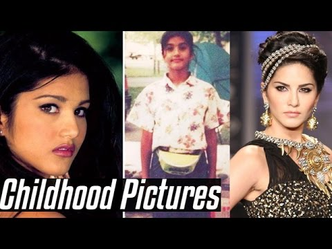 Sunny Leone's Unseen Rare Childhood...