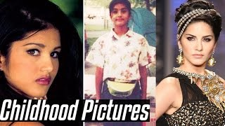 Sunny Leone's Unseen Rare Childhood Pictures | Short Biography