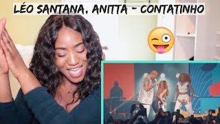 Baixar Léo Santana, Anitta - Contatinho (Ao Vivo Em São Paulo / 2019) | REACTION