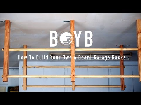 Build On Your Budget - How to Build Surfboard Racks For Your Garage