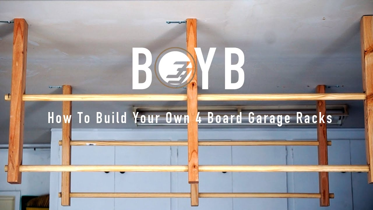 Beau Build On Your Budget   How To Build Surfboard Racks For Your Garage