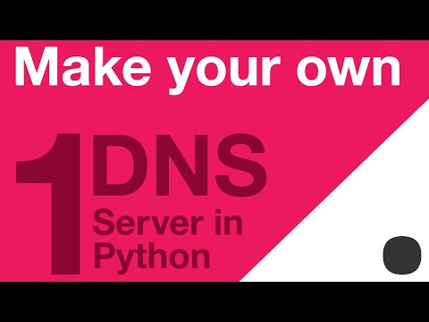 Make your Own DNS Server in Python - Part 1 - Warm Up