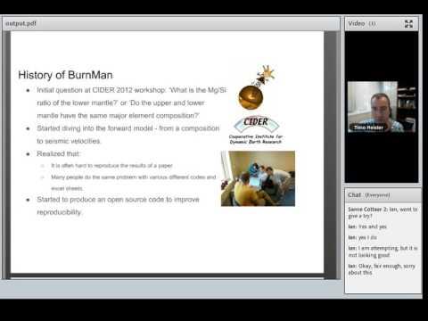 BurnMan Webinar