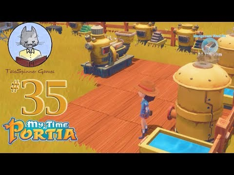 My Time at Portia 35 - Working on the Workshop