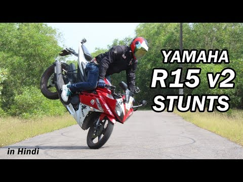 Yamaha R15 V2 Stunts & Ride From Bengaluru To Bhatkal