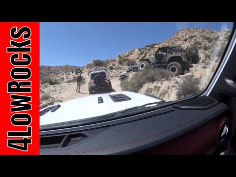 Valley of the Moon with the San Diego Jeep Club - April 2018