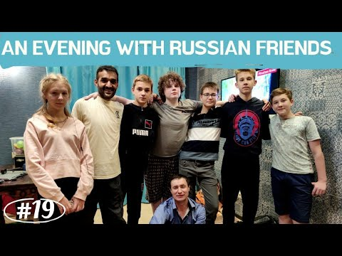 An Evening With Russian Friends || Russian Village Life || An Indian In Russia