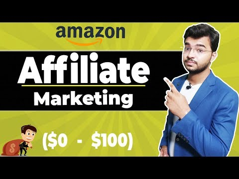 Amazon Affiliate Marketing Tutorial for Beginner | Make $100 with Affiliate thumbnail