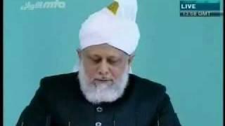 Проповедь Хазрата Мирзы Масрура Ахмада, (05-03-10) часть 6