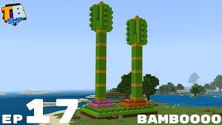 Lego Bamboo Build And Micro Farm Plans - Truly Bedrock Season 2 Minecraft SMP Episode 17