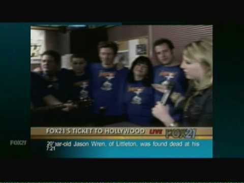 92.9 Peak FM Improv Colorado with Fox 21 on March 10th, 2009