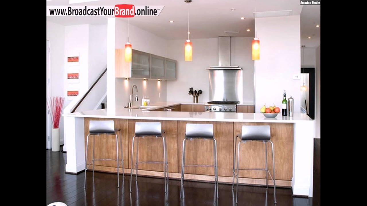 Stühle Eisen Ideen Kücheninsel Designs Klassisch - YouTube