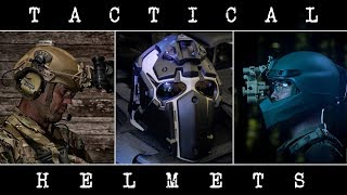 TOP 5 Tactical & Ballistic Helmets You Need To See ◈ 2018 ◈