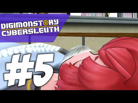 WHY AM I IN A HOSPITAL BED?! | Digimon Story: Cyber Sleuth (PART #5)