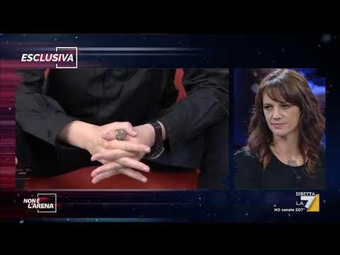 Asia Argento a Non è l'arena: 'Rain Dove ha venduto i miei messaggi'