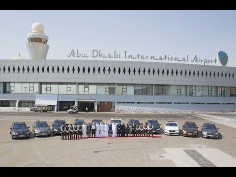 Abu Dhabi International Airport Terminal 3 Walk