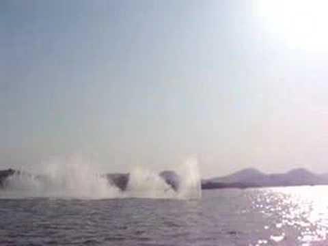 Hangzhou water fall in west lake