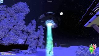 Les sims 3 saisons : enlevement extraterrestre