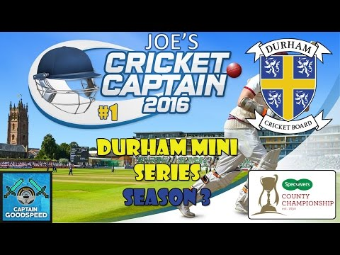 Cricket Captain 2016 - County Cricket (Durham) -  S03 E01: RETIREMENTS!