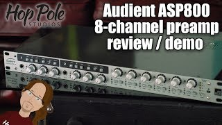 Audient ASP800 Review - Affordable 8 preamps over ADAT