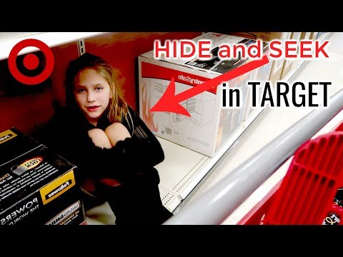 HIDE AND SEEK in Target   Shopping for Fall Outfits at Target Hope Marie Vlogs