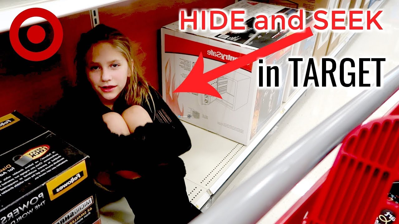 HIDE AND SEEK in Target + Shopping for Fall Outfits at Target Hope Marie Vlogs 1