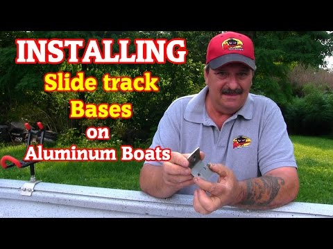 How To Install Accessory Points On An Aluminum Slide Track Gunwale