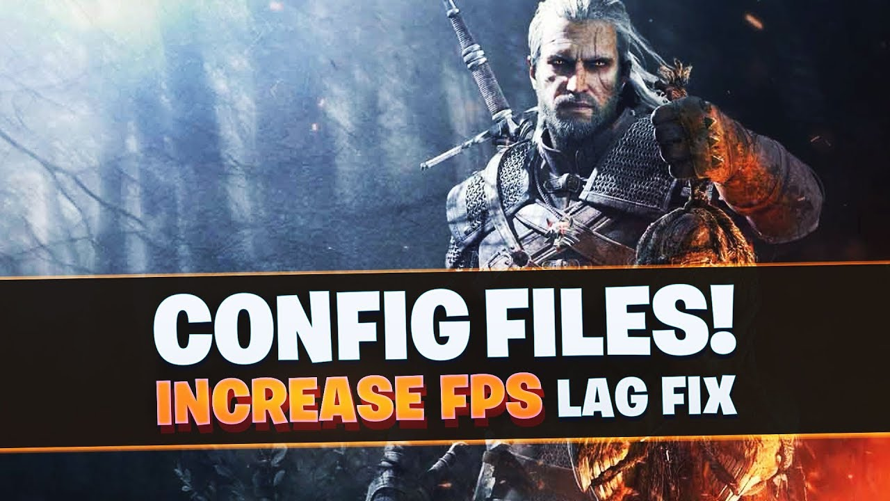 The Witcher 3 Low End PC's Config file