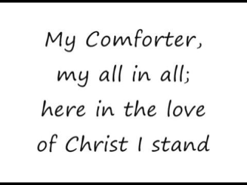 In Christ Alone - Adrienne Liesching Geoff Moore [lyrics]