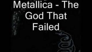 Gambar cover Metallica - The God That Failed (with lyrics)