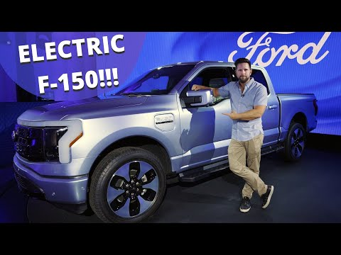 Electric F-150 Lightning First Ride - Is this the Most Important EV Ever?