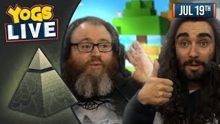 THE CHILLUMINATI - Minecraft w/ Simon & Harry - 19/07/19