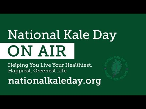 Farm To School - Garden City Harvest's Campaign to Get Kale Into Schools   National Kale Day ON AIR