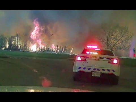 Boots On The Ground: RCMP Response To Massive Forest Fire That Ate The City Of Fort McMurray